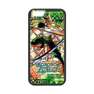 Generic for iPhone 6 Plus 5.5 Inch Cell Phone Case Black Roronoa Zoro Custom HGHFJDGJL4566