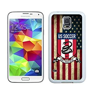 High Quality Samsung Galaxy S5 I9600 Case ,Cool And Fantastic Designed Case With USA Soccer 25 White Samsung Galaxy S5 I9600 Cover