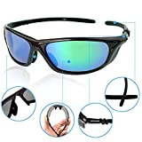 Imrider Polarized Sunglasses for Men Glare Eliminating Unbreakable 100% UV400 for Driving Riding Sports Outdoor Golf