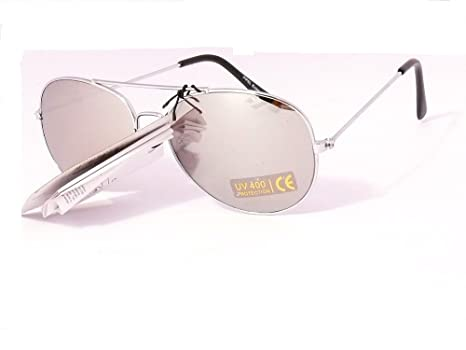 lunettes de soleil aviateur verres effet miroir enfant garçon fille 3 4 5  ans sgk10100 ( 35c85c93c975