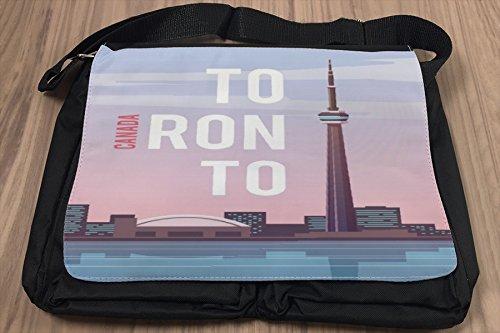 Umhänge Schulter Tasche Reisen Küche Toronto Kanada bedruckt WMkYFz