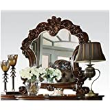 Acme Furniture 22004 Vendome Mirror, Cherry