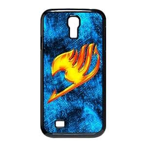 Fairy Tail T8I47V1BY funda Samsung Galaxy S4 9500 funda caso 7I0407 negro