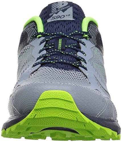 Chaussures New Piste 590v2 Bleu Balance Pour Course Sur De marine Hommes qqO65c4
