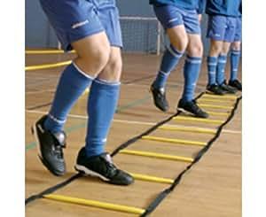 PRECISION TRAINING 4m Indoor Escalera de Agilidad y Velocidad