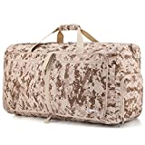Gonex 60L Foldable Travel Duffle Bag, Overnight/Weekend Bag Luggage Duffle(MARPAT Desert)