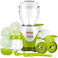 Nuby Garden Fresh Mighty Blender, Baby Food Maker Set