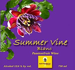 NV Summer Vine Blanc Passionfruit Wine 750 mL