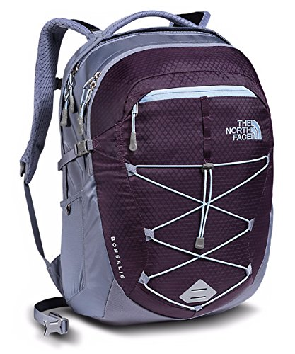 The North Face Womens Borealis Backpack Blackberry Wine / Chambray (The North Face Nylon Belt)