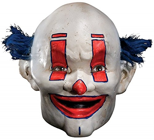 Joker Henchman Costume (Rubie's Costume Co Men's Batman The Dark Knight The Joker Henchman School Bus Driver Adult Mask, Multi, One Size)