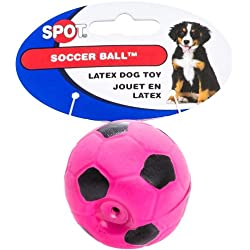 Spot Soccer Latex Ball Dog Toy Size:Pack of 3