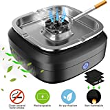 GESPERT Smokeless Ashtray, Multifunctional Cigarette Ashtray Air Purifier with Activated Carbon Filter to Reduces Secondhand Smoke, USB Charging, Protect Family Health for Car Home Office Gifts
