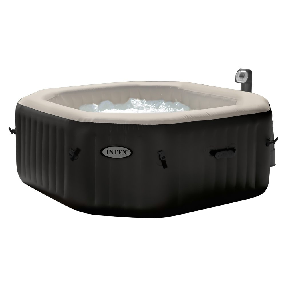 intex 28456 pure spa jet und bubble deluxe whirlpool im test aufblasbare whirlpools. Black Bedroom Furniture Sets. Home Design Ideas