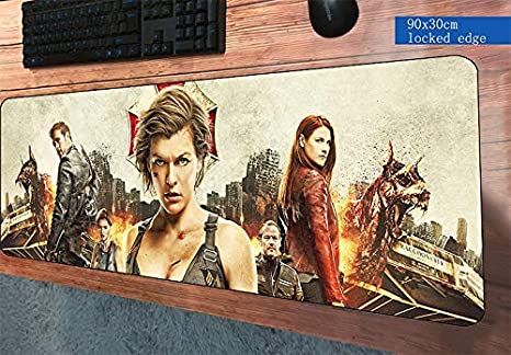 Amazon com : Resident Evil Mouse Pad 900X300Mm Mat Best