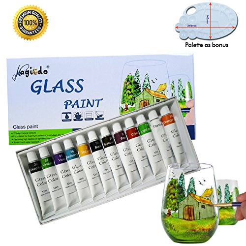 acrylic paint for glass - 1