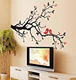 Birds & Blossoms Vinyl Wall Decal Picture