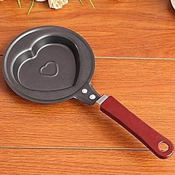 Utensilios de cocina, de hierro fundido, creativo para cocina, huevos, sartenes y calaveras, 2 unidades: Amazon.es: Hogar