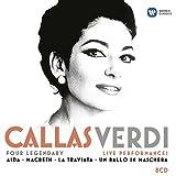 Callas/Verdi - Four legendary live performances (Aida, Macbeth, La Traviata, Un ballo in maschera)