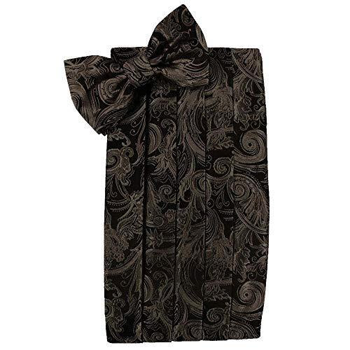 (Men's Tapestry Cummerbund & Bow Tie Set - Many Colors (Truffle))