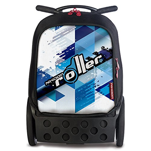 NIKIDOM Roller - ホイール付きスクールバックパック、カラーCool Blue B005MHQ7FI
