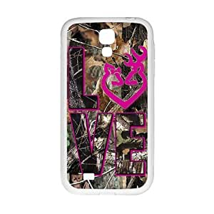 Cool painting Autumn branch pink love Cell Phone Case for Samsung Galaxy S4