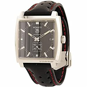 Tag Heuer Monaco swiss-automatic mens Watch WW2110.FC6177 (Certified Pre-owned)