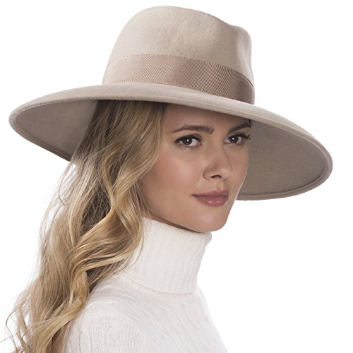 Eric Javits Luxury Fashion Designer Women's Headwear Hat - Camille - Taupe by Eric Javits