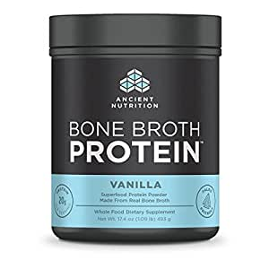 Bone Broth Protein - Vanilla, 16.2oz