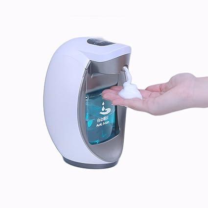 ZY Dispensador de jabón, desinfectante de manos con burbuja inteligente Dispensador de jabón automático Inducción