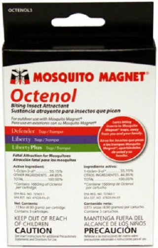 - Mosquito Magnet Octenol 3 3 Pack Biting Insect Attractant - Quanity 2