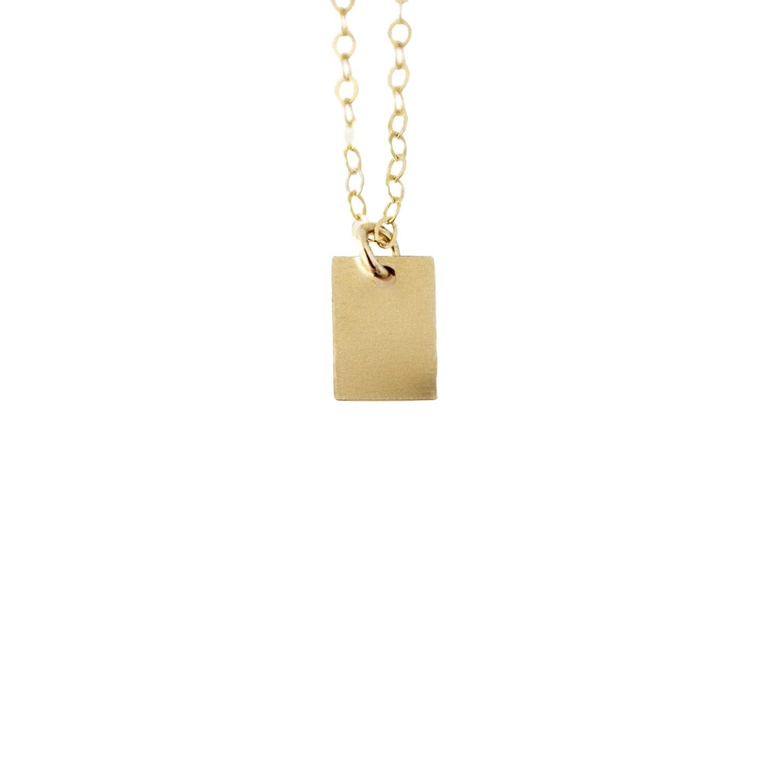 14k Gold Filled Ultra Thin Dainty Necklace Minimalist Necklace