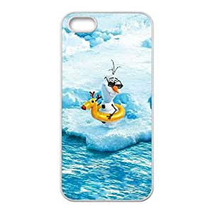 iPhone 4 4s Cell Phone Case White Olaf Frozen OJ688327