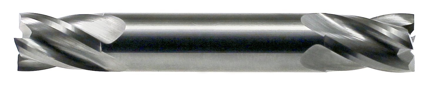 Uncoated Finish 4 Flute 30 Degrees Helix 3//16 Cutting Diameter 3//16 Shank Diameter Drillco 7500 Series Solid Carbide Stub Length Finishing Center Cutting End Mill 3//8 Cutting Length Square Nose End 2 Length Bright