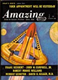 img - for Amazing Stories, August 1966, Featuring *Your Appointment Will Be Yesterday* (Volume 40, No. 7) book / textbook / text book