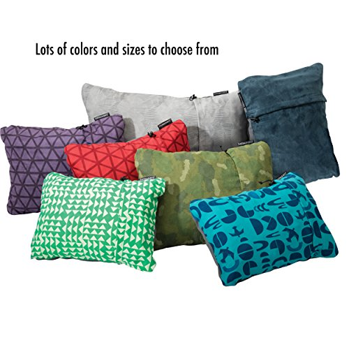 """Therm-A-Rest Compressible Travel Pillow for Camping, Backpacking, Airplanes and Road Trips, Amethyst, XLarge: 16.5"""" x 27"""""""