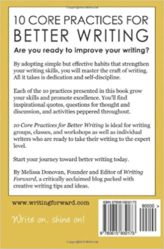 10 Core Practices for Better Writing (Adventures in Writing ...