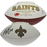 Drew Brees Autographed New Orleans Saints White Panel Football - PSA/DNA Certified Authentic