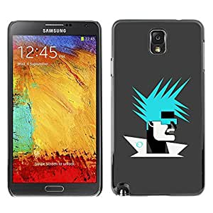 GagaDesign Phone Accessories: Hard Case Cover for Samsung Galaxy Note 3 - Abstract Portrait