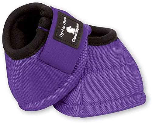 Classic Equine Dyno No-Turn Bell Boots B004475LS6 Medium|Purple