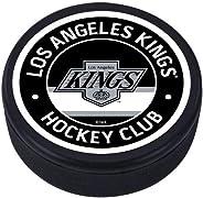 Mustang Los Angeles Kings 3D Textured Vintage Black Souvenir Hockey Puck