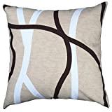 Multi-sized Both Sides Geometrical Lines Printed Cushion Cover LivebyCare Linen Cotton Throw Pillow Case Sham Pattern Zipper Pillowslip Pillowcase For Drawing Room Sofa Couch Chair Back Seat