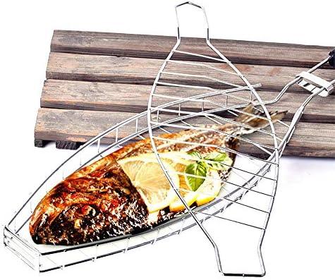 KADDGN Outils pour Barbecue Viande Poisson Grill Panier légumes Porte Barbecue Nourriture Barbecue Plateau Nouveau Barbecue Sauvage Portable Net Easy Lavable