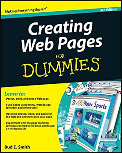 Creating Web Pages For Dummies: Bud E. Smith: 9780470385357 ...