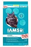 Iams ProActive Health Indoor Weight & Hairball Care Adult Cat Food, 16 lbs. (4 BAG)