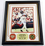 Barry Bonds Signed Picture - GU Collection Bat Coin Highland Mint DF024988 - Autographed MLB Photos