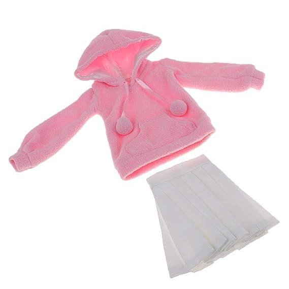 Amazon.es: Homyl Moda y Encantadora Falda Plisada Blanca con ...