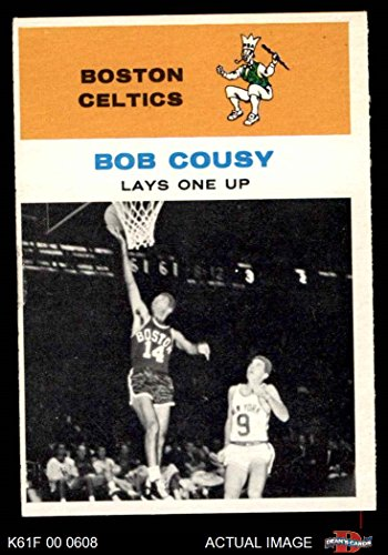 - 1961 Fleer # 49 In Action Bob Cousy Boston Celtics (Basketball Card) Dean's Cards 5 - EX Celtics