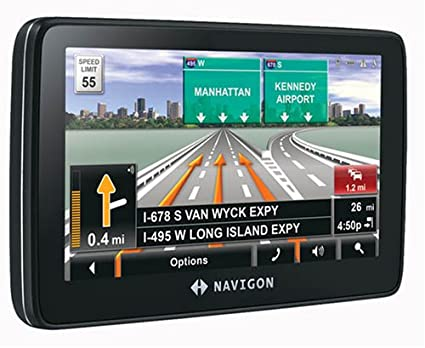 Navigon 7200T 4 3-Inch Portable GPS Navigation with Bluetooth,  Text-to-Speech, and Free Traffic Alerts