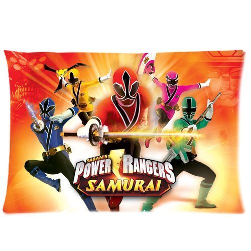 Custom Power Rangers Samurai Games Pattern 10 Pillowcase Cushion Cover Design Standard Size 20X30 Two Sides - Power Ranger Queen Bedding