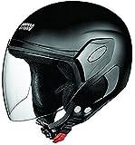 Studds Femm Super Half Helmet (Matt Black, XS)